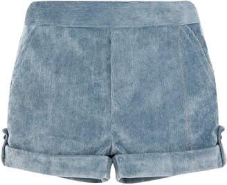 Carrera Pili Corduroy Rolled-Cuffs Shorts Size 6M-3