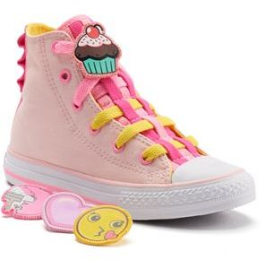 Kid's Converse Chuck Taylor All Star Loopholes Badges High-Top Sneakers $45 thestylecure.com