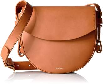 Skagen Lobelle Leather Saddle Bag