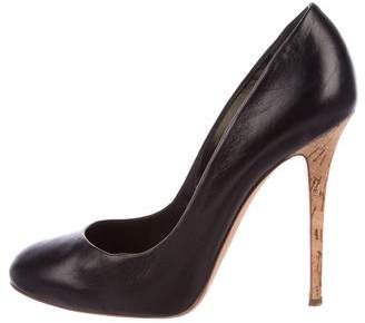 DSQUARED2 Leather Round-Toe Pumps