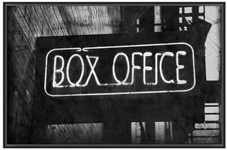 Pottery Barn Vintage Movie Framed Print - Box Office