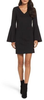 Women's Cece Lizzie Bell Sleeve Sheath Dress $128 thestylecure.com