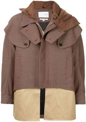 Yoshio Kubo Yoshiokubo oversized houndstooth hunting coat