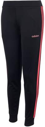 adidas Girls' 7-16 Linear Tricot Jogger Pants