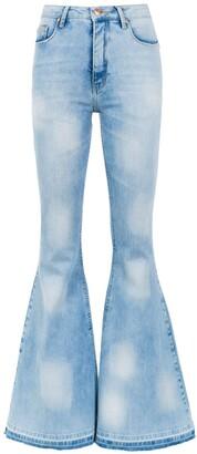 Dakota Amapô super flared jeans