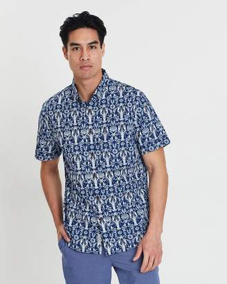 Sportscraft Short Sleeve Tapered Humphries Shirt