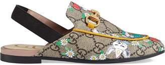Gucci Kids Children's Princetown GG pets slipper