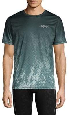 Superdry Gridplate Short-Sleeve Active Tee