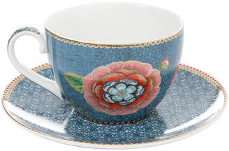 Pip Studio Spring To Life Cappucino Cup & Saucer