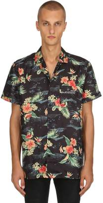 Hawaiian Printed Short Sleeve Shirt