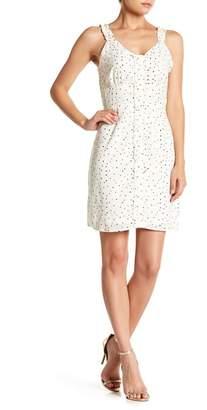 19 Cooper V-Neck Star Print Shift Dress