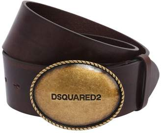DSQUARED2 35mm Leather Hip Belt