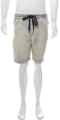 3.1 Phillip Lim Bleached Denim Shorts
