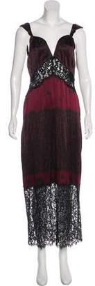 Rachel Zoe Lace Sleeveless Maxi Dress