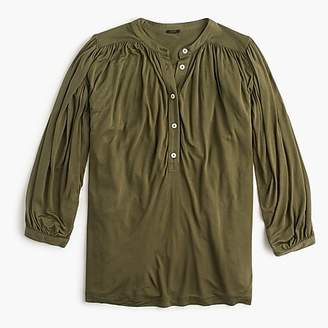 J.Crew Drapey popover shirt
