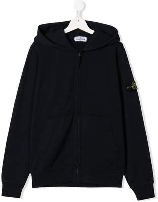 Stone Island Junior TEEN zip-up hoodie