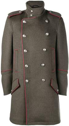Diesel Black Gold double-breasted coat