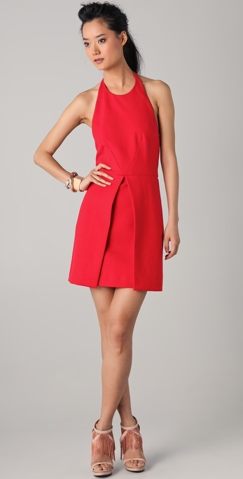 Bird by juicy couture Bonded Halter Dress