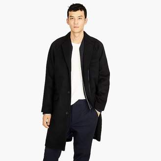 Destination raglan-sleeve wool-cashmere topcoat