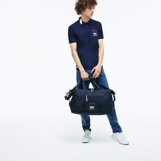 Lacoste Men's L.12.12 Concept Lettering Petit Pique Weekend Bag