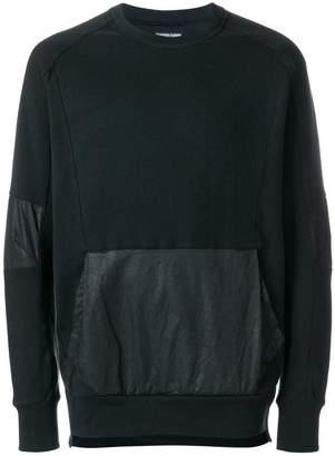 Alexandre Plokhov contrast panel sweatshirt