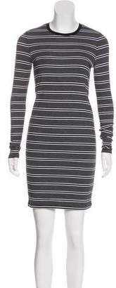 ATM Anthony Thomas Melillo Striped Knit Dress