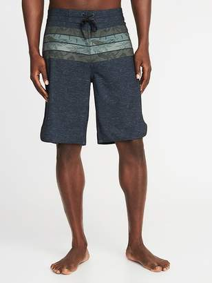 "Old Navy Built-In Flex Printed Board Shorts for Men (10"")"