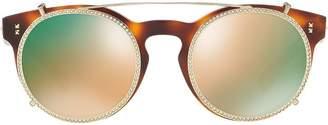 Valentino Eyewear Garavani round frame sunglasses
