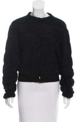 Max Mara Weekend Cropped Button-Up Cardigan