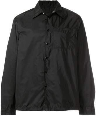 Prada windbreaker shirt jacket