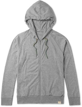 Paul Smith Mélange Cotton-Jersey Pyjama Hoodie $150 thestylecure.com