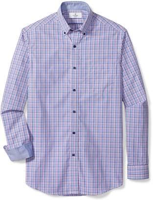 Buttoned Down Men's Classic Fit Button Collar Sport Shirt