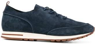 Loro Piana lace up classic trainers