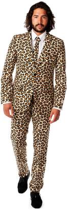 DAY Birger et Mikkelsen Opposuits Men's OppoSuits Slim-Fit Jaguar Spots Suit & Tie Set