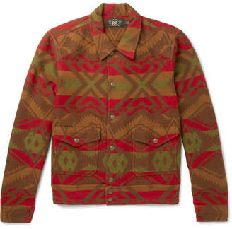 RRL Ralston Cotton And Wool-Blend Jacquard Shirt Jacket