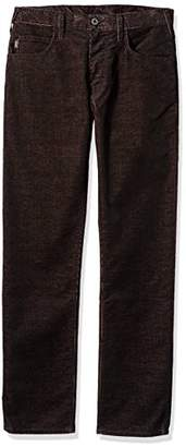 Armani Jeans Men's Stretch Velvet 5 Pocket Pant