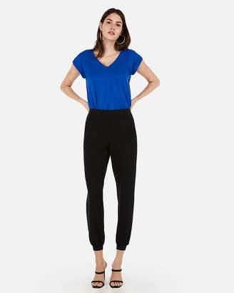 Express V-Neck Gramercy Thong Bodysuit