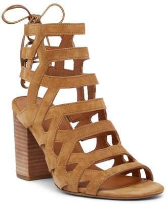 Franco Sarto Connie Block Heel Cage Sandal