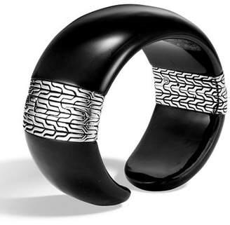 John Hardy Classic Chain Wide Cuff