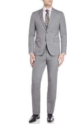 Kenneth Cole Two-Piece Light Grey Travel Suit