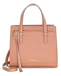 Salvatore Ferragamo Women's Small Amy Leather Satchel