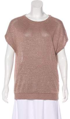 Brunello Cucinelli Metallic Dolman Sweater