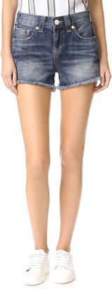 True Religion Kori High Rise Boyfriend Shorts
