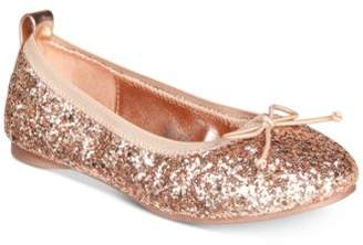 Kenneth Cole Reaction Rose Shine Ballet Flats, Little Girls & Big Girls