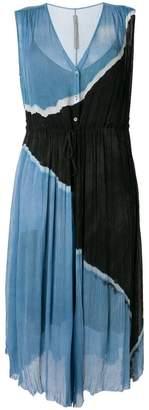 Raquel Allegra button-up Desert dress
