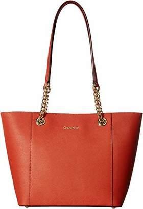 Calvin Klein Hayden Saffiano Leather East/West Tote