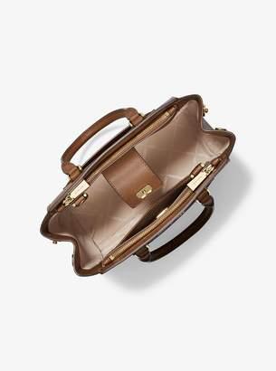 d5304d33064b MICHAEL Michael Kors Brown Saffiano Leather Handbags - ShopStyle