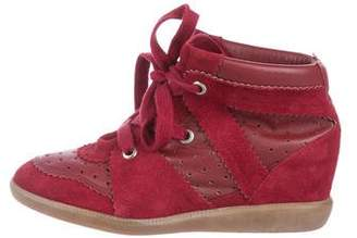 Isabel Marant Betty Wedge Sneakers