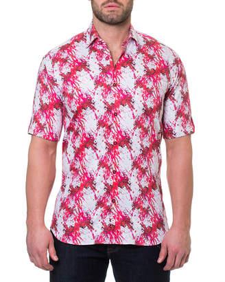 Dexter Maceoo Men's Fresh Short-Sleeve Sport Shirt