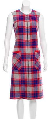 Novis Plaid Wool Dress w/ Tags